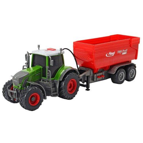 Купить Трактор Dickie Toys Fendt 939 Vario (3737000) 41 см красный/зеленый/серый, Машинки и техника