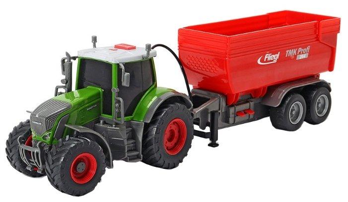 Dickie Toys Трактор Fendt с прицепом