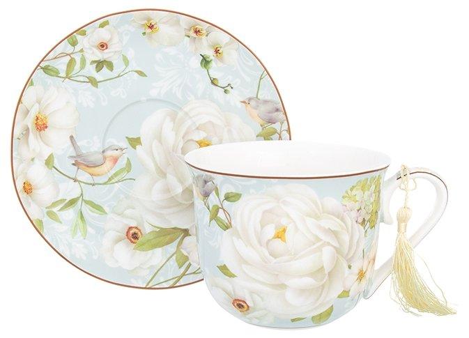 Купить Elan gallery Чайная пара Дикая роза по низкой цене с доставкой из Яндекс.Маркета (бывший Беру)