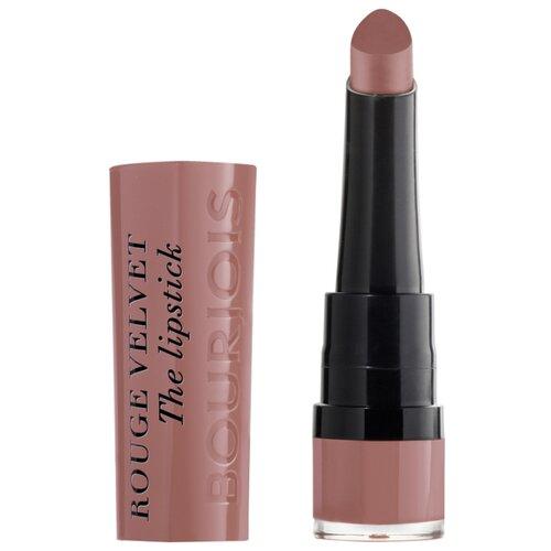 Bourjois Помада для губ Rouge Velvet The Lipstick, оттенок 13 Nohalicious