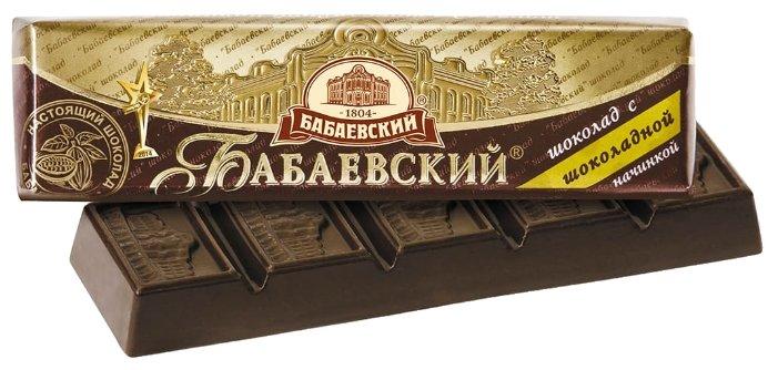 Батончик Бабаевский с шоколадной начинкой, 50 г