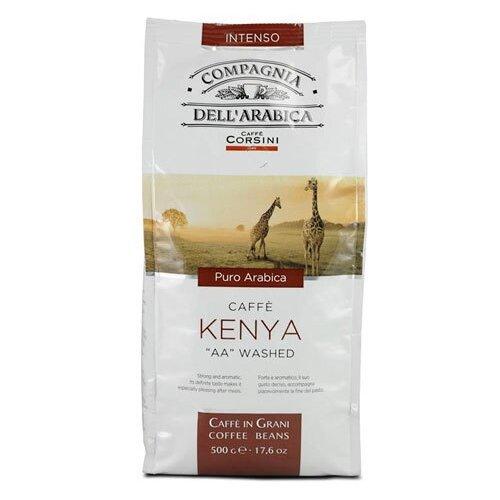 Кофе в зернах Compagnia Dell` Arabica Kenya AA Washed, арабика, 500 гКофе в зернах<br>