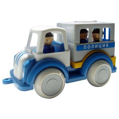 Купить Грузовик Форма Детский сад (С-161-Ф) 27 см белый/голубой, Машинки и техника