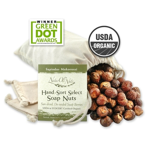 NaturOli Organic Hand-Sort Select Soap Nuts
