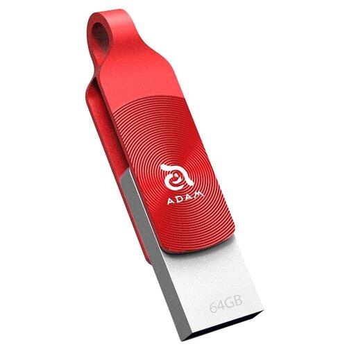 Флешка Adam Elements iKlips DUO + 64GB красный