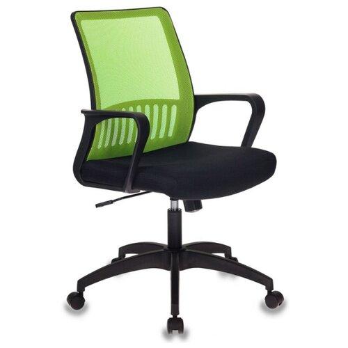 Компьютерное кресло Бюрократ MC-201 офисное, обивка: текстиль, цвет: зеленый/черный