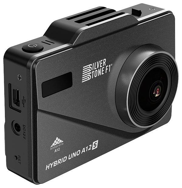 Видеорегистратор с радар-детектором Silverstone F1 HYBRID UNO A12 S GPS черный