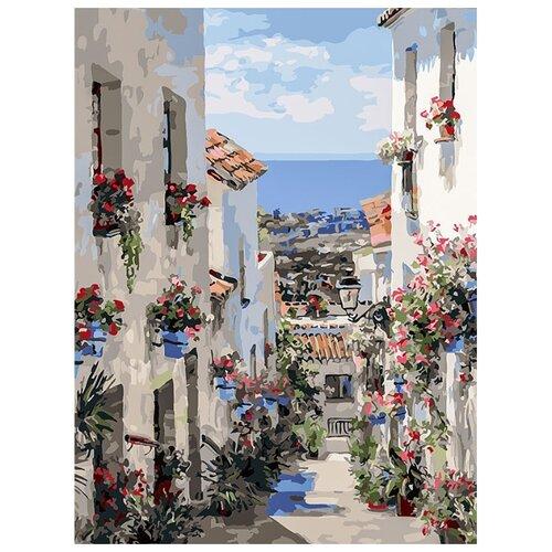 Белоснежка Картина по номерам Испания. Михас 30х40 см (251-AS), Картины по номерам и контурам  - купить со скидкой