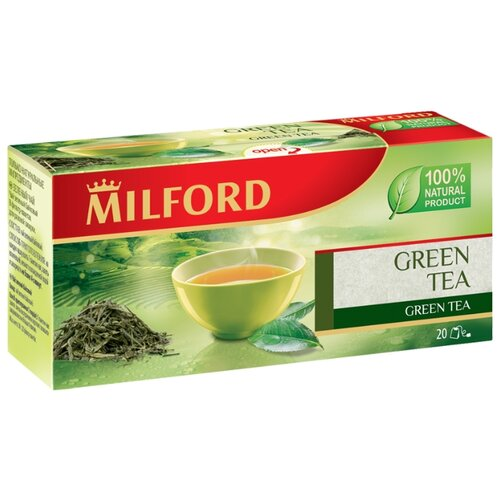 Чай зеленый Milford Green tea в