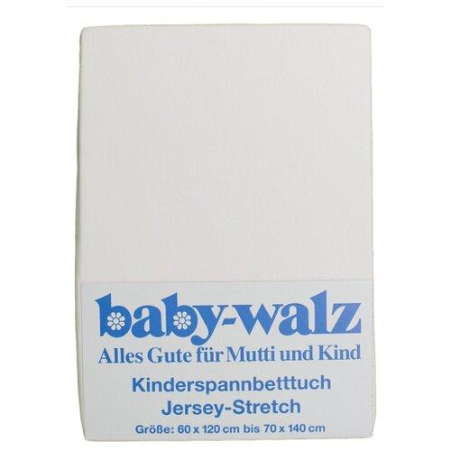 Baby Walz простыня натяжная белыйПостельное белье и комплекты<br>