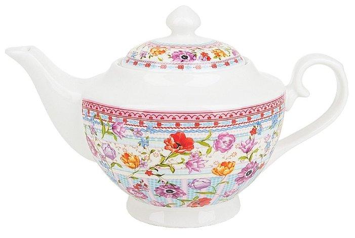 Чайник NOUVELLE Разноцветные тюльпаны, 1100 мл (M0661165)