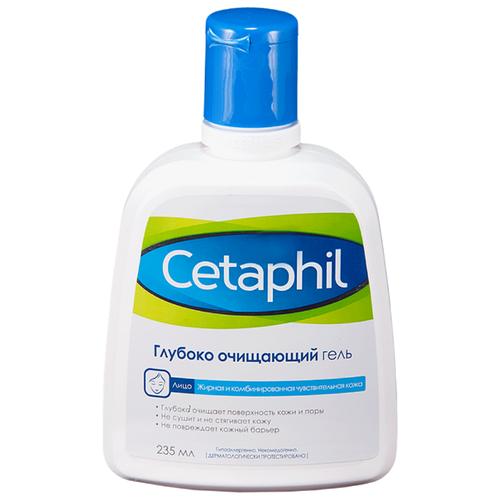 Cetaphil Глубоко очищающий гель, 235 мл cetaphil лосьон купить