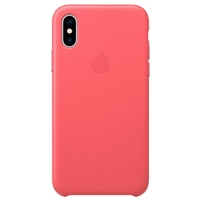 Чехол Apple iPhone XS Leather Case