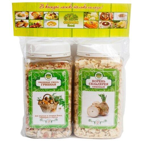 Organic Food Набор специй Грибная и Корень сельдерея, 290 г