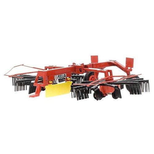 Купить Прицеп Siku для игрушечного трактора Fella Рыхлитель (2451) 1:32 красный, Машинки и техника