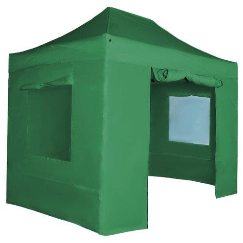 Фото - Шатер Helex S8.1, 3x3, со стенками и москитной сеткой, 3 х 3 х 3.1 м зеленый шатер green glade 1003 со стенками и москитной сеткой белый зеленый