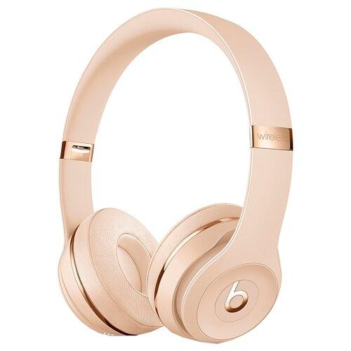 Беспроводные наушники Beats Solo3 Wireless матовое золото беспроводные наушники beats solo3 wireless атласное серебро