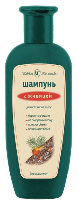 Невская Косметика шампунь с живицей