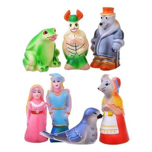 Купить Набор для ванной Кудесники Дюймовочка (СИ-362) разноцветный, Игрушки для ванной