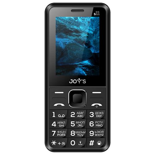 Телефон JOY'S S11 черный телефон