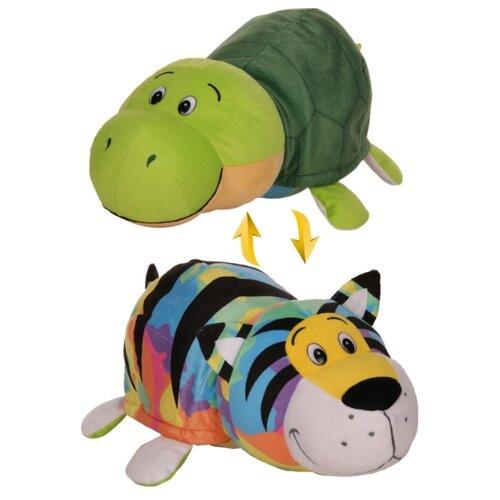 Купить Мягкая игрушка 1 TOY Вывернушка Радужный тигр-Черепаха 20 см, Мягкие игрушки