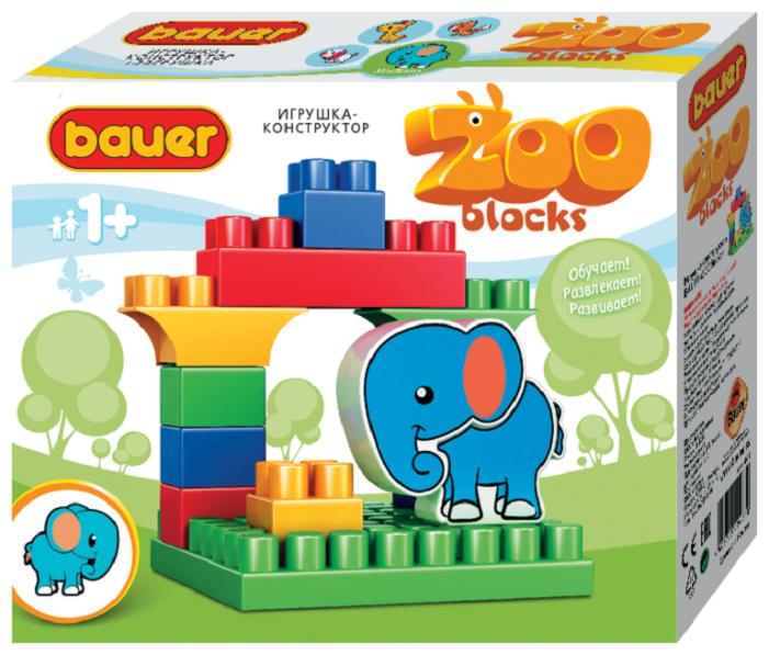 Конструктор Bauer Зооблокс 547 Слон