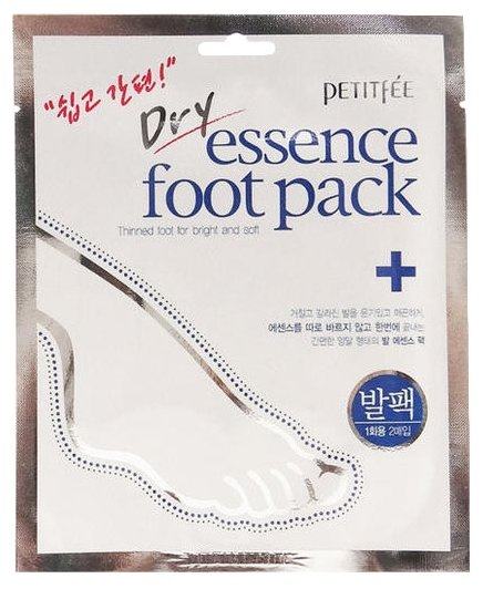 Petitfee Dry essence foot pack 1 пара