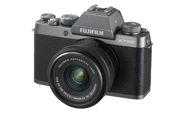 Fujifilm Фотоаппарат со сменной оптикой Fujifilm X-T100 Kit