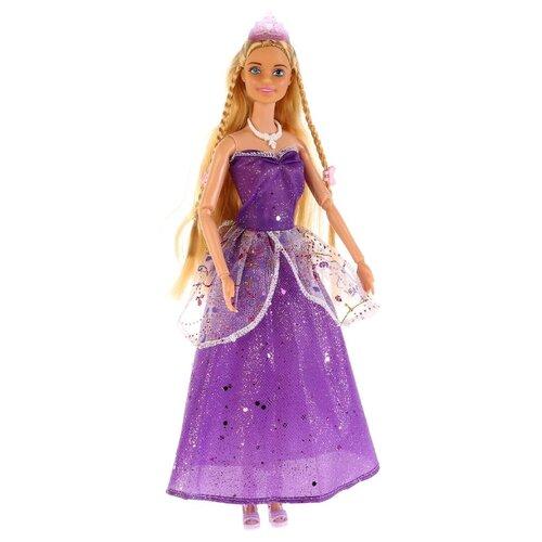 Купить Кукла Карапуз София Принцесса с цветными локонами, 29 см, 99027-S-AN, Куклы и пупсы