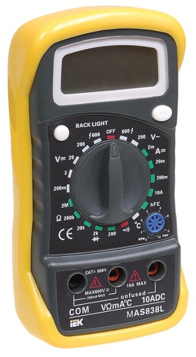 Мультиметр IEK Master MAS838L