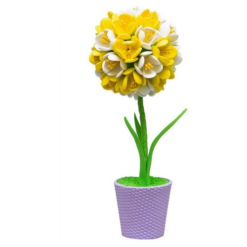 Волшебная Мастерская Набор для творчества Крокусы желто-белые (ТПМ-08)