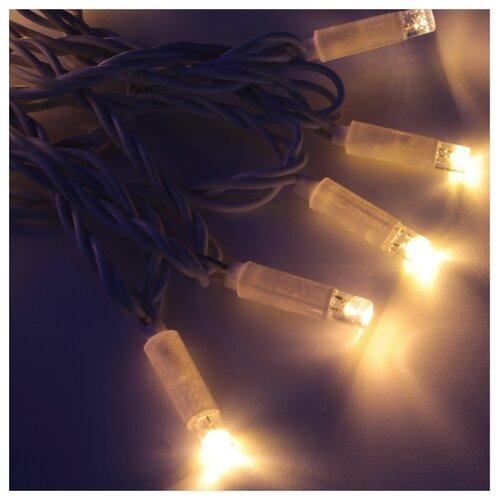 Гирлянда Hi Lights Deco морозостойкая 1200 см, RW-LD120, 120 ламп, теплые белые диоды/белый провод