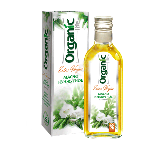 Organic Life Масло кунжутное 0.25 л