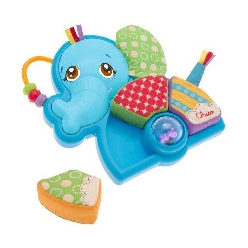 цена на Развивающая игрушка Chicco Слоник голубой