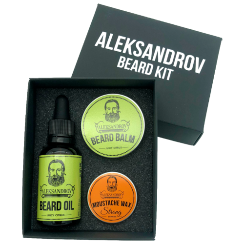 ALEKSANDROV Набор для бороды №08
