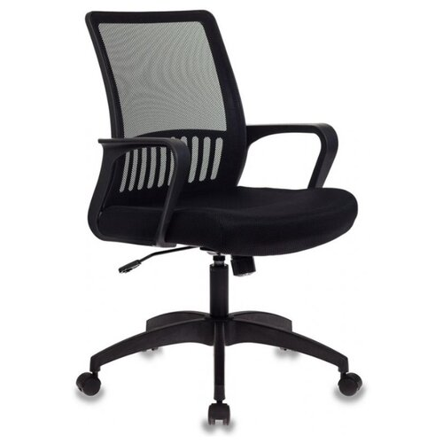 Компьютерное кресло Бюрократ MC-201 офисное, обивка: текстиль, цвет: черный цена 2017