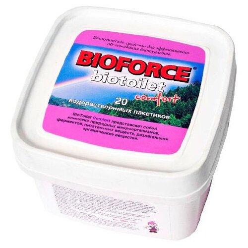 Bioforce Биологическое средство BioToilet Comfort 20 шт.