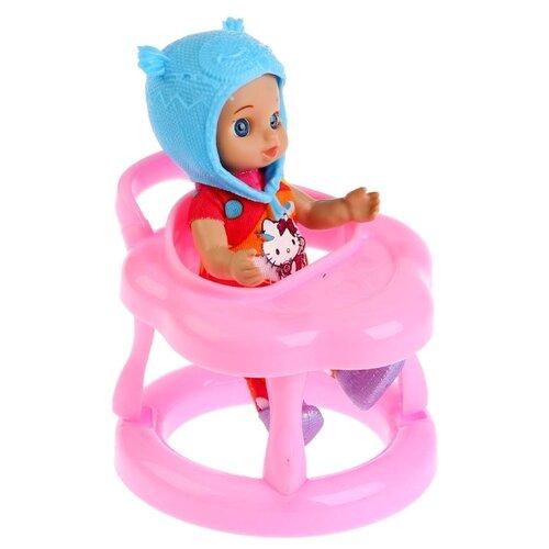 цена на Кукла Карапуз Hello Kitty, 12 см, YL1701U-RU-HK