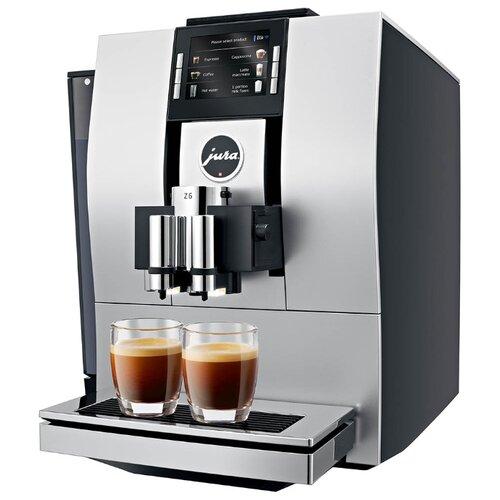 Кофемашина Jura Z6 Satinsilber серебристый/черный кофемашина jura z6 satinsilber серебристый черный