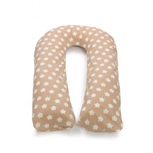 Купить Подушка Sonvol для беременных U 340 белые звезды, Подушки и кресла для мам