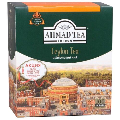 Чай черный Ahmad tea Ceylon в пакетиках, 100 шт.