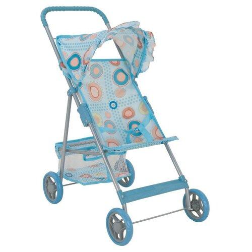 Прогулочная коляска Buggy Boom Mixy (8008) голубой/кружки buggy boom коляска для кукол buggy boom infinia трансформер салатовая