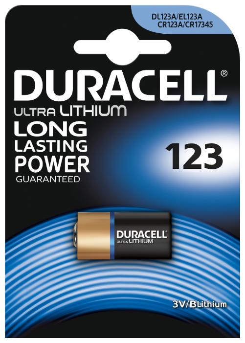 Батарейка Duracell Ultra 123