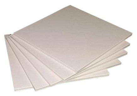 Пенокартон белый, набор 5 штук, размер листа: 50 х 65 см, толщина 0,5 см, плотность 640 гр/м2
