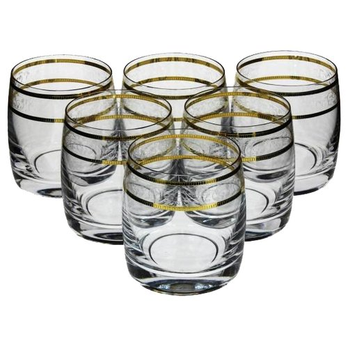 Bohemia Crystal Набор стаканов для виски Идеал 290 мл 6 шт 431842 набор стаканов для виски айсберг 6 шт
