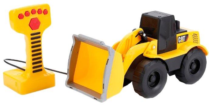 Машина ToyState Cat Экскаватор 22.5см пульт управления и звуковые эффекты (36623TS)