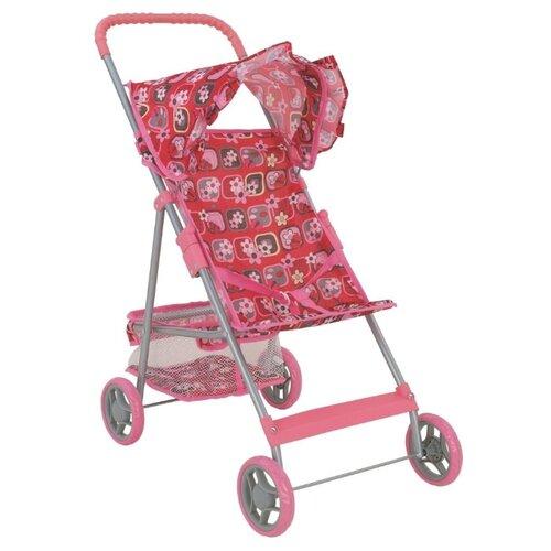 Купить Прогулочная коляска Buggy Boom Mixy (8008) красный/рисунок, Коляски для кукол