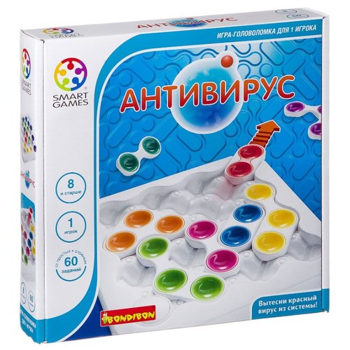 Купить Головоломка BONDIBON Smart Games Антивирус (ВВ0847), Головоломки