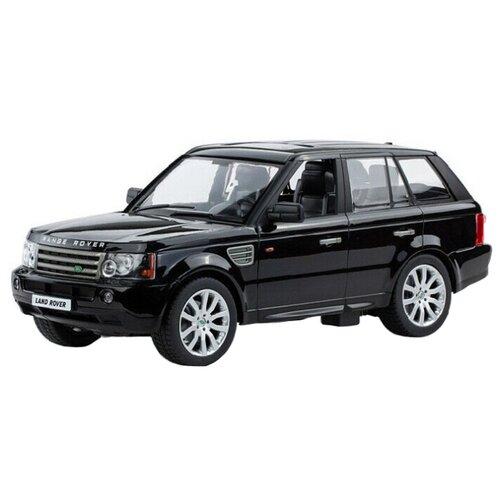 Внедорожник Rastar Land Rover Range Rover Sport (28200) 1:14 34 см черный цена 2017