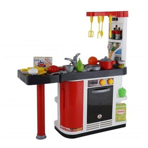 цена на Кухня Palau Toys 67609 красный/белый/черный/серый